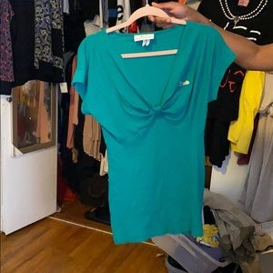 Lacoste and Catherine malandrino size L green top